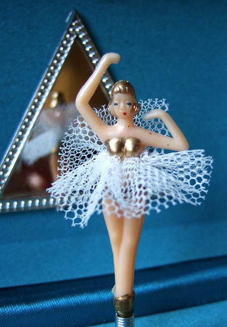 Ballerina Musical Jewelry Box    music box ballerina by kitsch, via Flickr