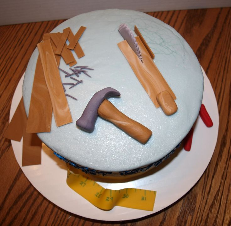 Carpenter s cake - top view My Cakes Pinterest