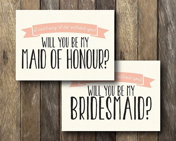 Will you be my Maid of Honour Instant by TheLionAndTheLark