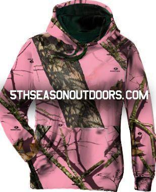 Mossy Oak Infinity Pink Camouflage Hoodie