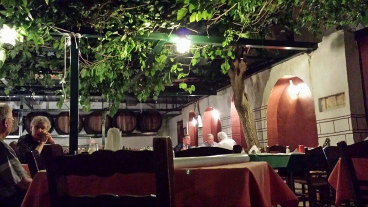 Καραβίτης in Παγκράτι, Αττική Cumin flavoured meatballs in a place that steps back in time