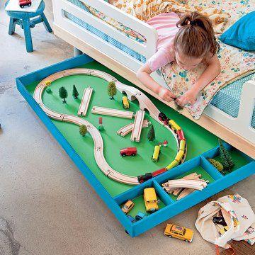 Un tiroir de jeu pour enfant