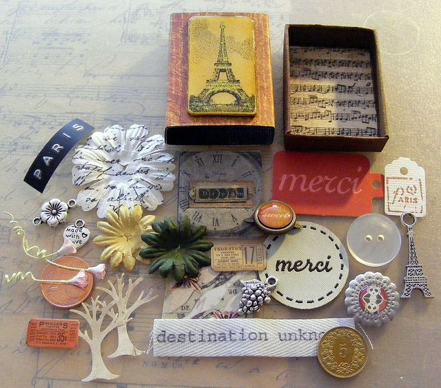 Paris: Buckets Lists, Paris Matchbox, Altered Matchbox, Boxes Art, Matchbox Art, Matchbox Swap, Matchbox Full, Matching Boxes, Crafts