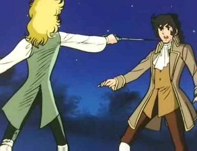 Knickers and cravats and overcoats ~ Rose of Versailles