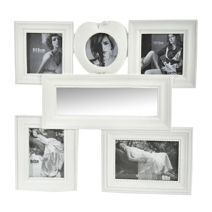 Surpriza din gama de decoraţiuni interioare este rama foto cu 5 fotografii şi oglindă inclusă, servind în acelaşi timp pentru două scopuri. Dimensiunea totală a acestei decoraţiuni este de 39x3x39 cm, în timp ce pozele ce pot fi înrămate trebuie să aibă dimensiunea 7x7 cm, 9x9 cm, 10x10 cm, 9x13 cm şi 10x15 cm.