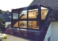 mooie dakkapel door onderglas-kozijn kan de dakkapel verder na voren waardoor veel ruimte te winnen is