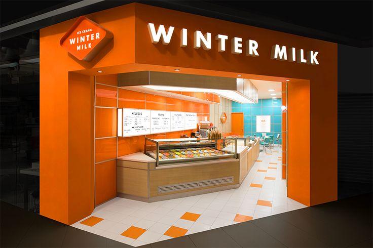 Winter Milk. Design by www.anagrama.com