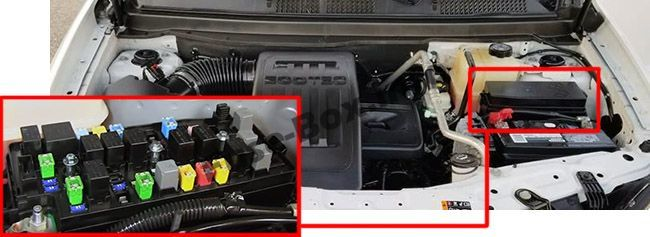 Chevrolet Captiva Sport 2012 2016 Fuse Box Location