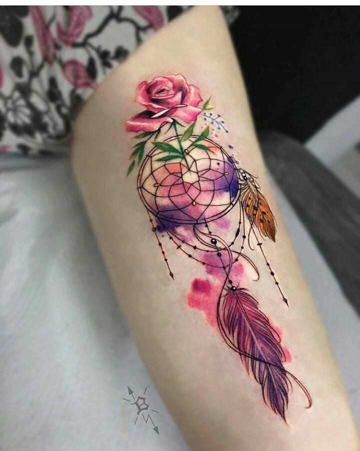 Atrapa Sueños Tatuajes Tatuaje Tattoos Tattoo Inked
