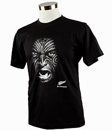 www.nzallblacks.net  Traditional Maori face tattoo design Photographic Transfer All Blacks and adidas dual Rugby logos included. #rugby #sports #allblacks
