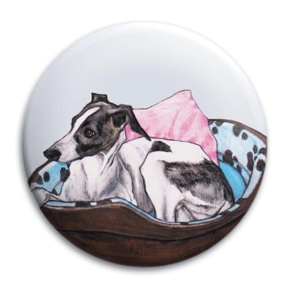 Miroir de poche de whippet Greyhound miroir de whippet