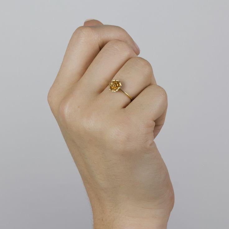 Rosa Damasca Ring