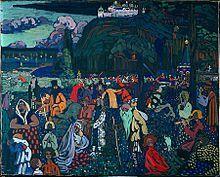Kandinsky, La vie mélangée - Vassily Kandinsky — Wikipédia