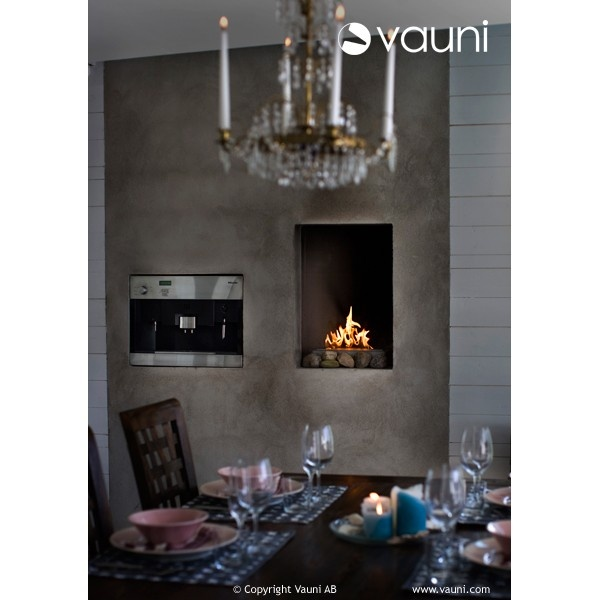Vauni CI bio fireplace @ inamus.com - The biggest fireplace catalog in the world. #fireplace