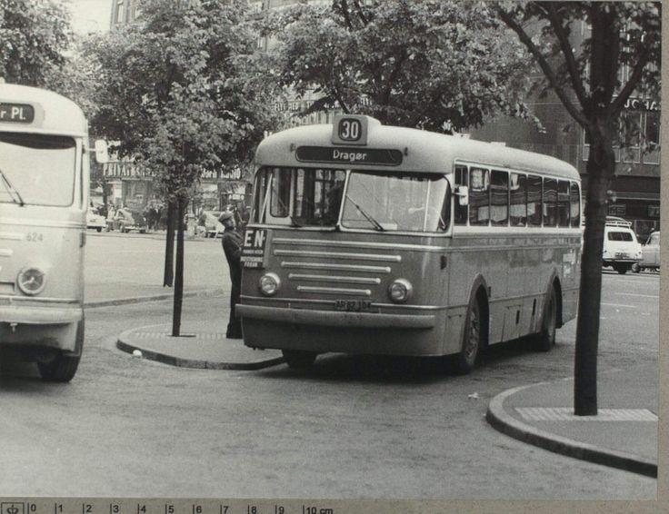 Linie 30 mod Dragør ca. 1950erne. Foto Karl Nord.