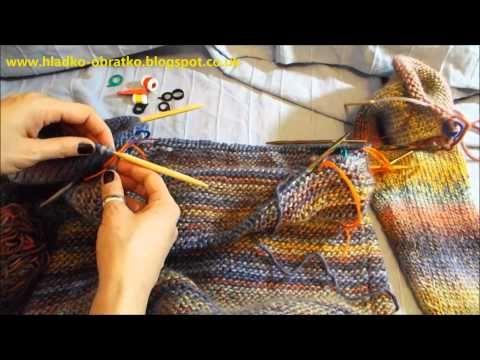 Na světě je další video z kategorie - Škola pletení, a to návod na splétání dvou ok v jedno, ubírání. S tímto návodem zvládnete uplést raglánový svetr, pomůž...