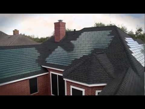 #DOWPOWERHOUSE #Solar Shingles Help Homeowners Save Money And Create Even  Greater Value For Their. Solar RoofGo GreenRoof ...