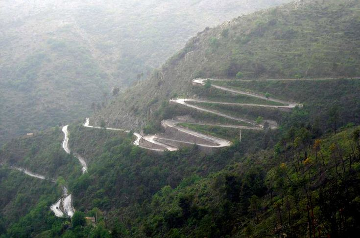 Los Caracoles road from Santiago - Chile and Mendonza - Argentina