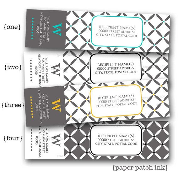 1000+ ideas about Address Label Template on Pinterest | Paper ...