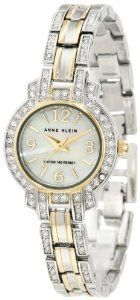 #Anne Klein 10 9775mptt Swarovski  women watch #2dayslook #new #watch #nice  www.2dayslook.com