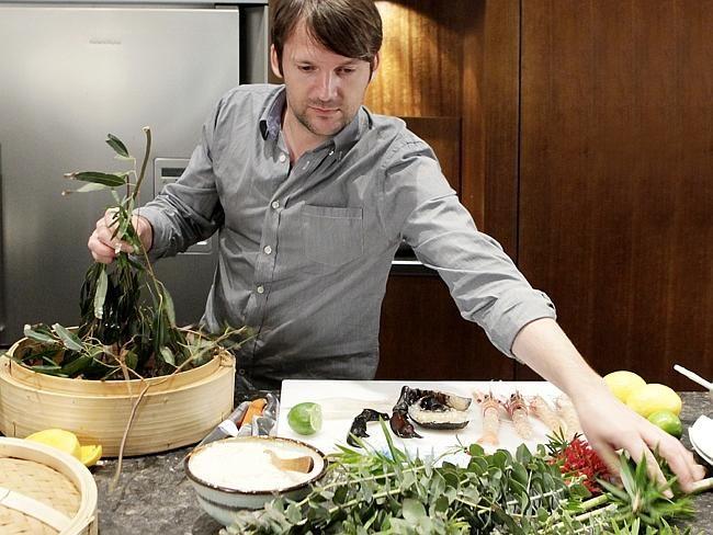Redzepi owner of restaurant Noma in Copenhagen voted best restaurant in the world goes sh