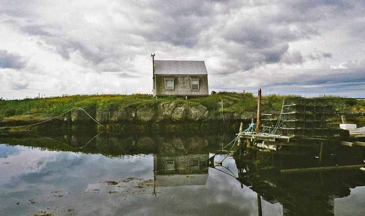 Fishing Shack in Blue Rocks, Nova Scotia.
