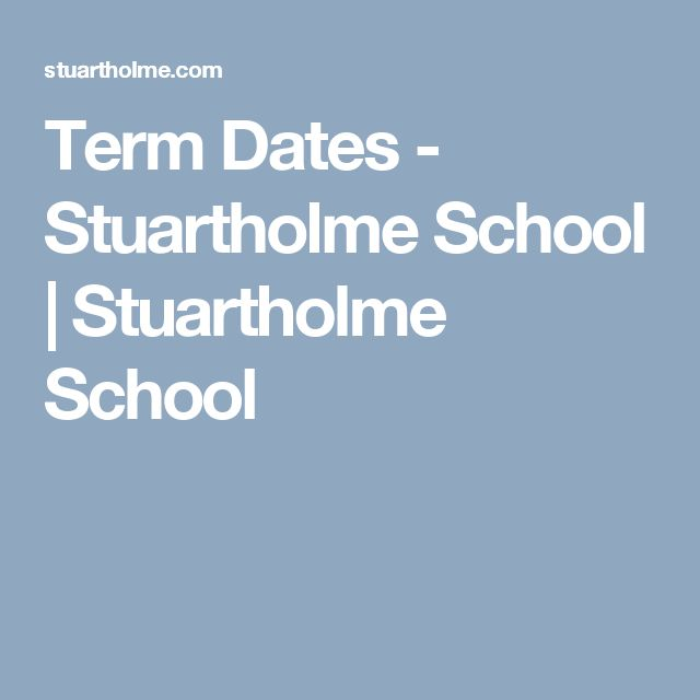 Term Dates - Stuartholme School | Stuartholme School