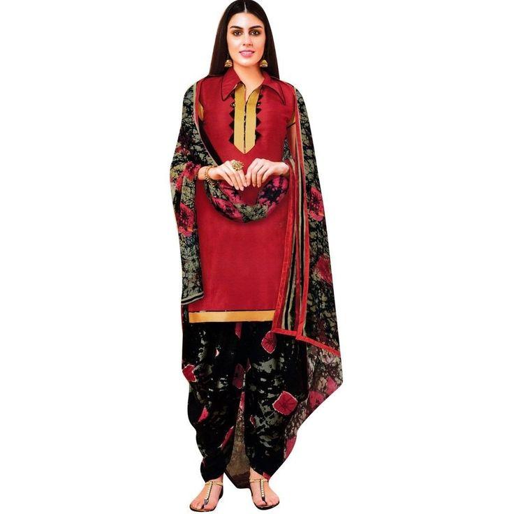 Readymade Patiala Salwar Printed Cotton Salwar Kameez Suit  #Designer #ShopNow #FreeShipping #SalwarSuit #DressMaterial #LowestPrice #SalwarKameez #NewStuff