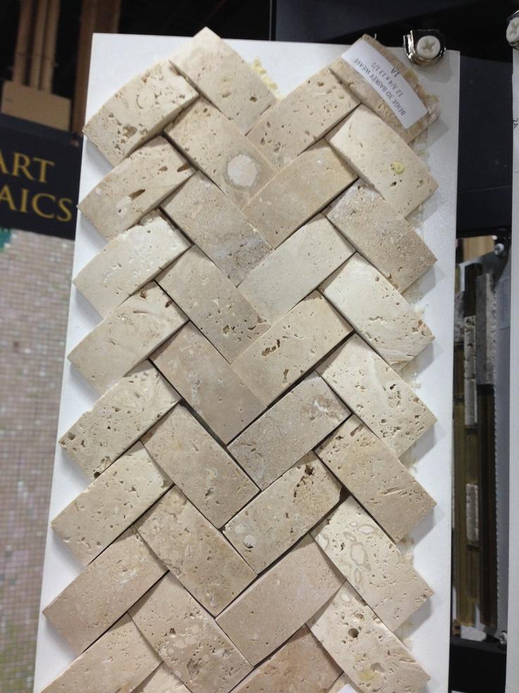 Basket Weave Backsplash Tile Pinterest Baskets