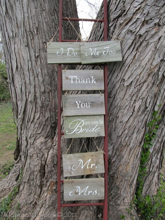 How To Make A Faux Ladder For Craft Display Using Scrap Lumber And Repurposed Spindles