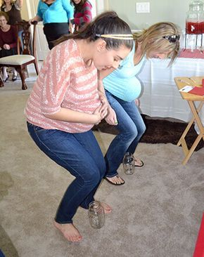 fun coed baby shower games