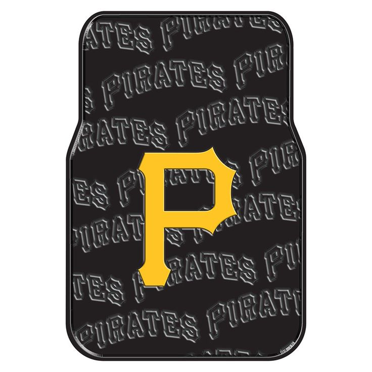 Pittsburgh Pirates MLB Car Front Floor Mats 2 17x25