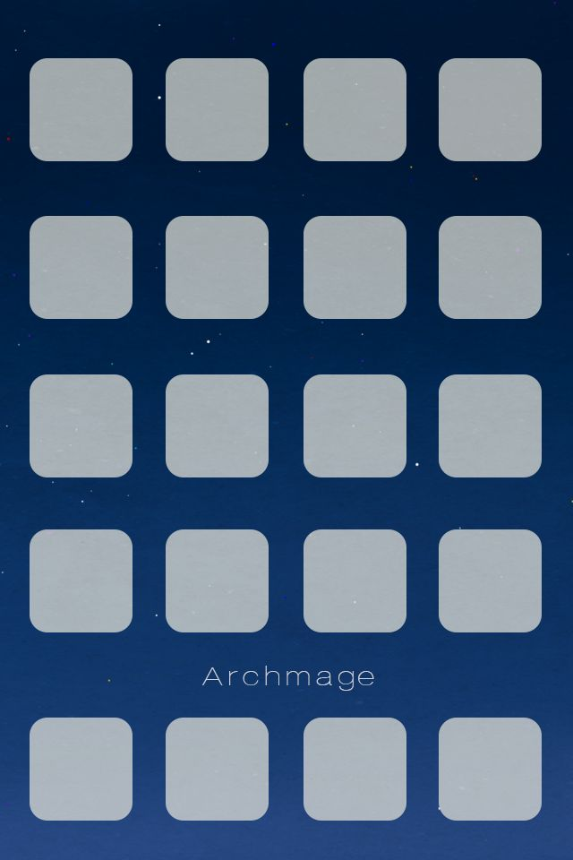 Archmage Official iOS Background - White Boxes by archmagemusic.deviantart.com on @DeviantArt