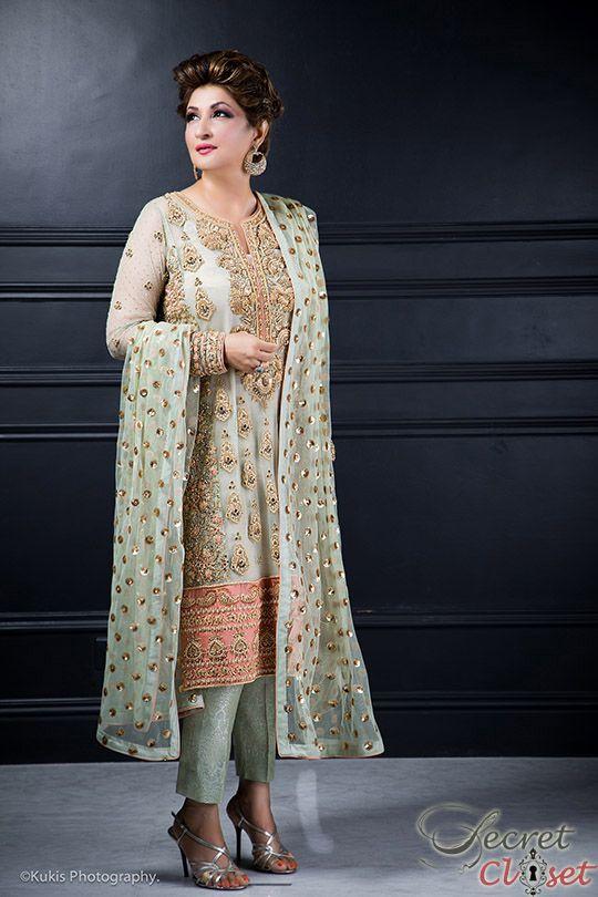 Mina Hasan in her own creation