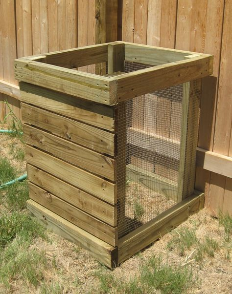 homemade compost bin have been doing my research about organic composting and