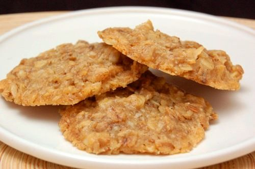 Coconut honey muesli cookies
