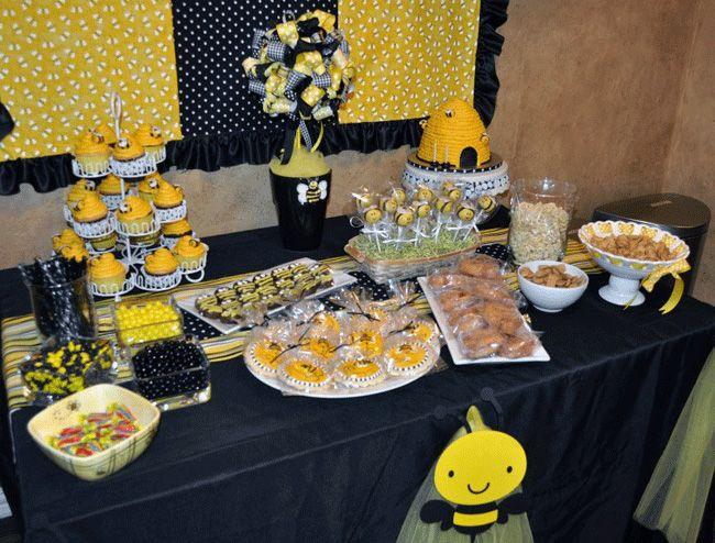Preppy Bumblebee Party