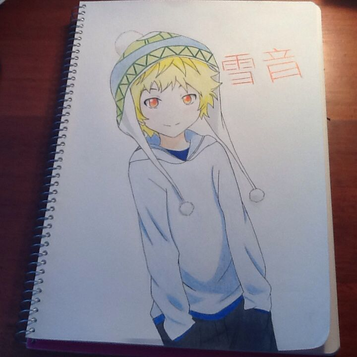 I drew yukine from noragami! This didn't turn out so good, but i think it's cute! Please comment! Credit to Chloe Pash!