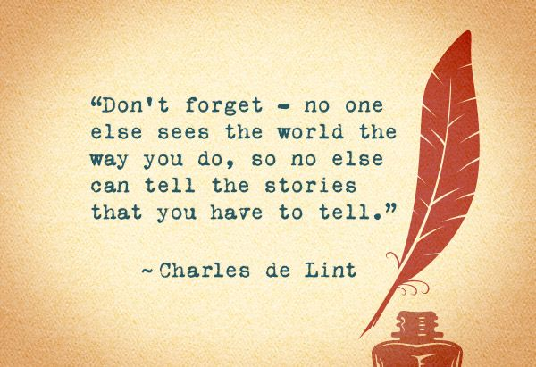 Charles de Lint (12 Pieces of Advice from the World's Best Writers)