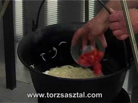 Szegedi Pacal recept - YouTube