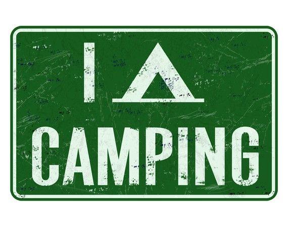 I Tent Camping #camping