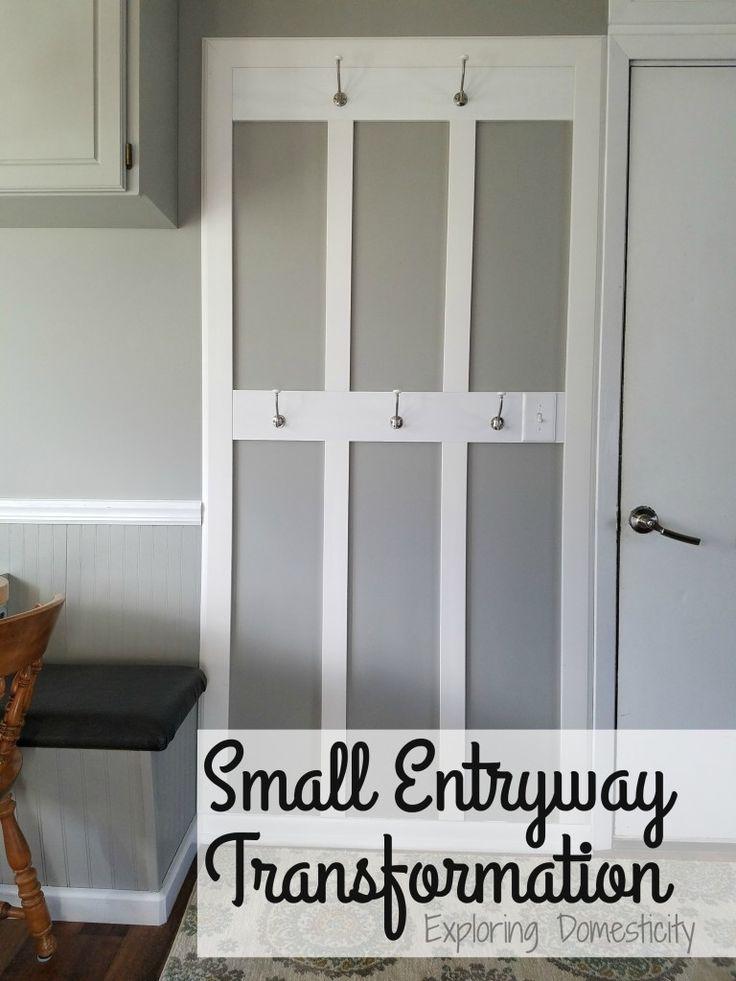 Small Entryway Transformation