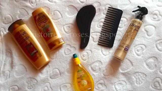 Histoires De Roses: My Hair Routine...