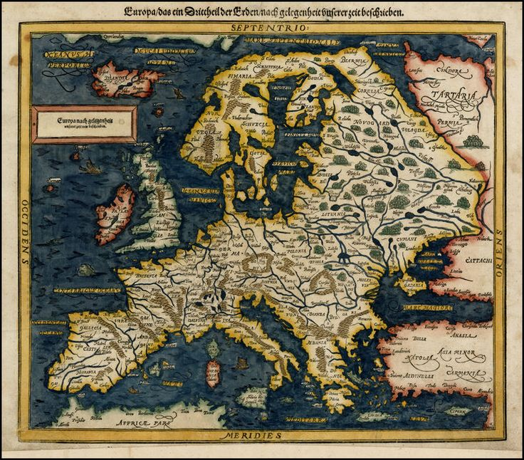142 best mapa images on pinterest cartography maps and old maps munster map of europe 1588 gumiabroncs Gallery