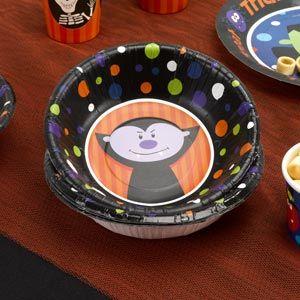 Halloween Vampire Party Bowl