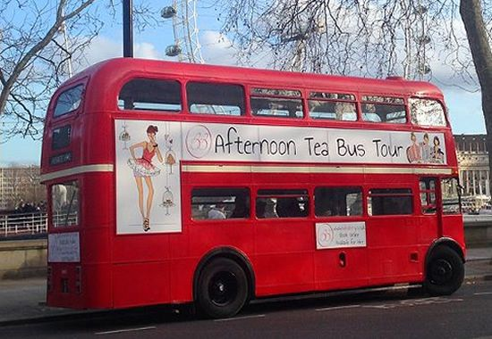BB Bakery London Afternoon Tea Bus Tour