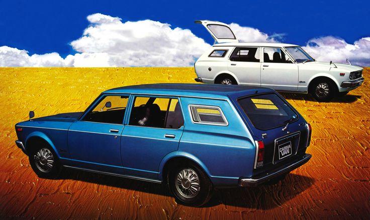 Toyota Carina Van '1970–77