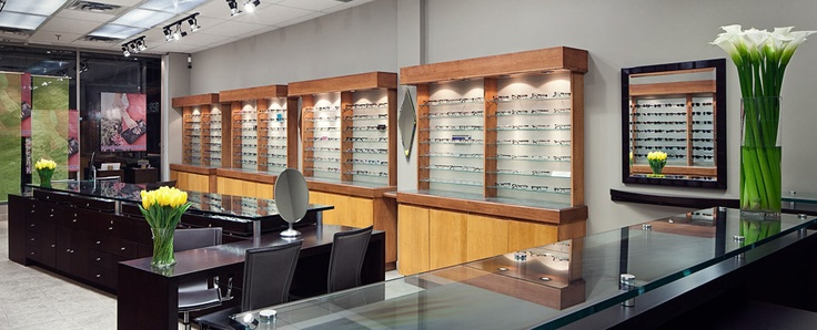 Glazier Oticians for upscale, designer eyewear