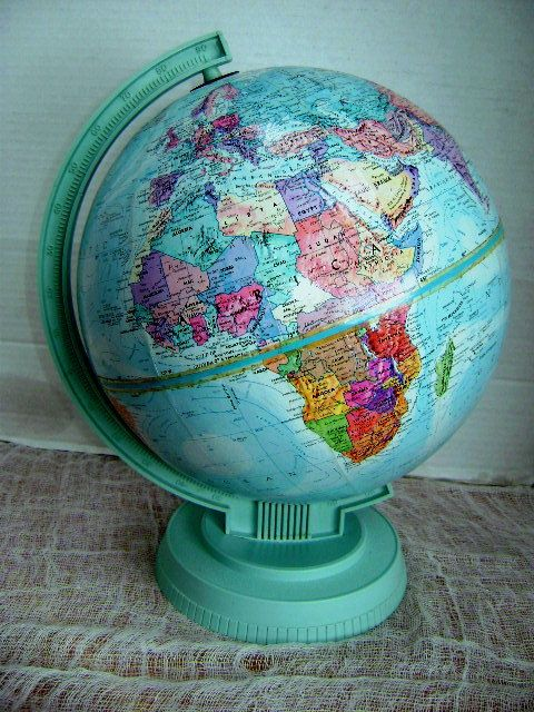 The 106 best antique globes images on pinterest map globe vintage vintage world globe replogle world scholar series by junquegypsy gumiabroncs Images