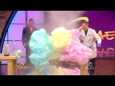 Exploding Foam Science on Rachael Ray with Jeff Vinokur & Nick Cannon - YouTube